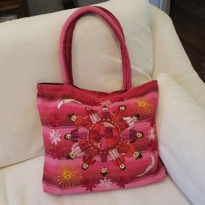 Handmade Embroidered tote
